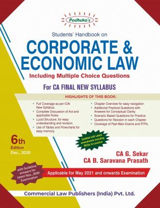 Economic Laws CA Final