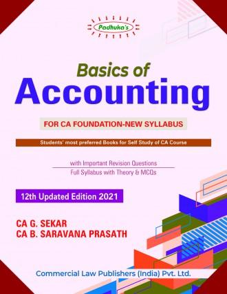 CA Foundation Books