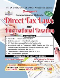 ca final direct tax book
