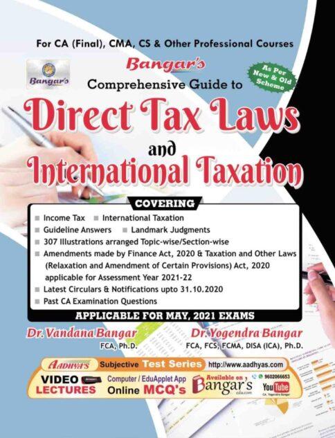 ca final direct tax book