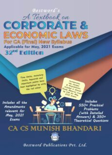 Munish Bhandari CA Final Law | A Textbook on Corporate and Economic Laws Munish Bhandari