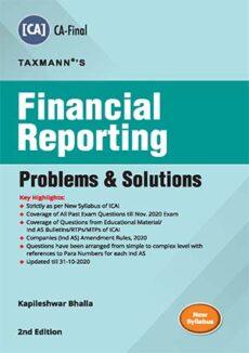 CA Final Financial Reporting