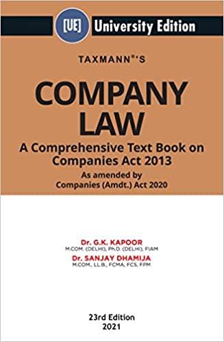 gk kapoor company law